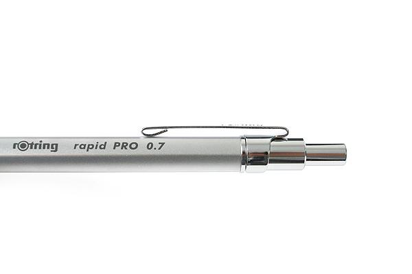 Rotring Rapid Pro Drafting Pencil - 0.7 mm - Silver Body - ROTRING 1904256