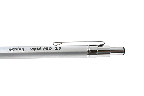 Rotring Rapid Pro Lead Holder - 2 mm - Silver Body - ROTRING 1904259