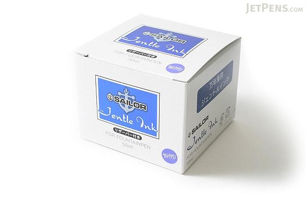 Sailor Fountain Pen Jentle Ink - 50 ml Bottle - Ultramarine Purple - SAILOR 13-1000-250