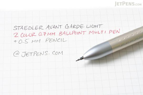 Staedtler Avant Garde Light 2 Color 0.7 mm Ballpoint Multi Pen + 0.5 mm Pencil - Champagne Gold Body - STAEDTLER 927AGL-G