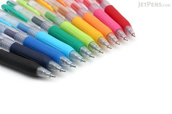 Zebra Sarasa Push Clip Gel Pen - 0.7 mm - 10 Color Set - ZEBRA JJB15-10CA