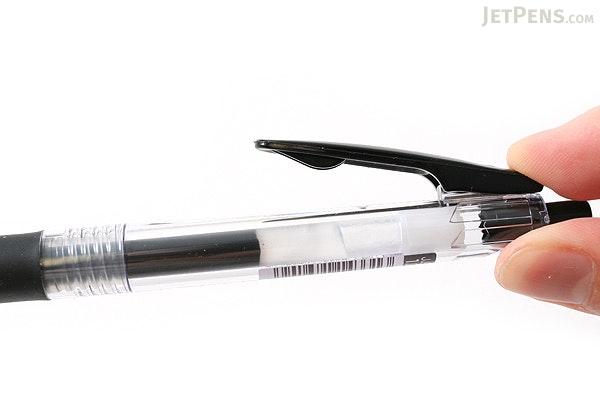 Zebra Sarasa Push Clip Gel Pen - 1.0 mm - Black - ZEBRA JJE15-BK