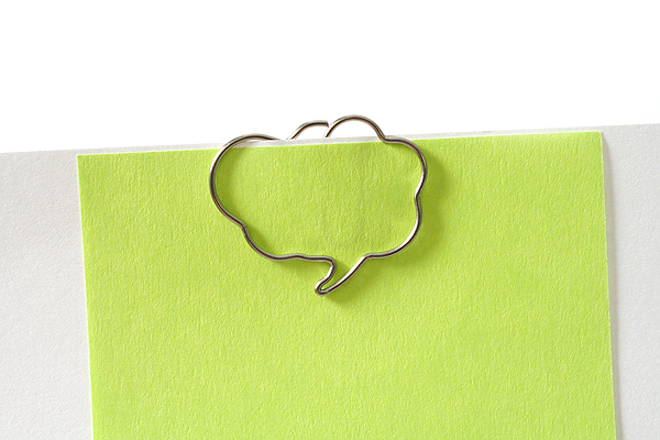 Sun-Star Pictome Paper Clip - Comment Box - Pack of 8 - SUN-STAR S3614514