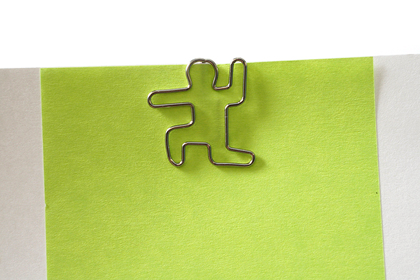 Sun-Star Pictome Paper Clip - Man Fighting - Pack of 8 - SUN-STAR S3614450
