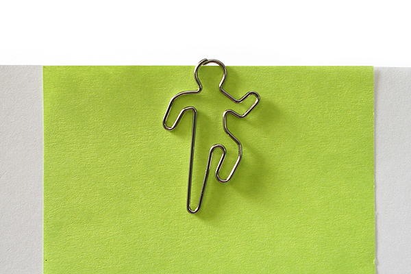 Sun-Star Pictome Paper Clip - Man Running - Pack of 8 - SUN-STAR S3609375