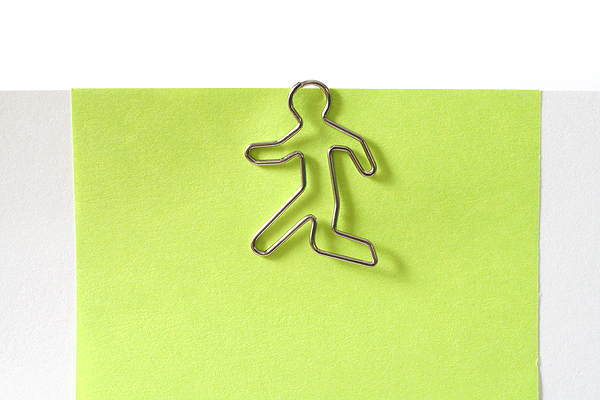 Sun-Star Pictome Paper Clip - Man Walking - Pack of 8 - SUN-STAR S3609367