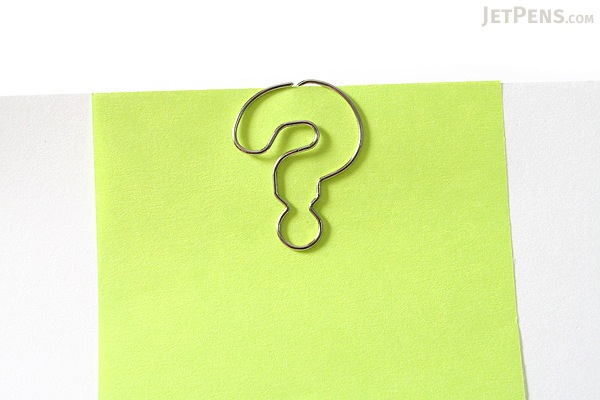 Sun-Star Pictome Paper Clip - Question Mark - Pack of 8 - SUN-STAR S361448