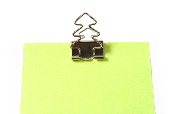 Sun-Star Pictome W Binder Paper Clip - Tree - Pack of 4 - SUN-STAR S3614565