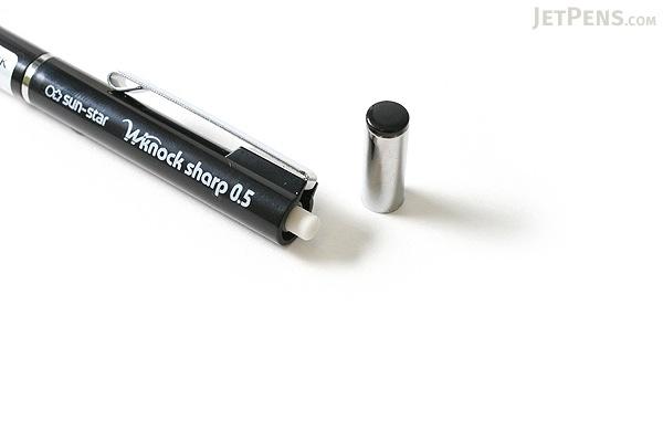 Sun-Star W Knock Mechanical Pencil - 0.5 mm - Black Body - SUN-STAR S4454197