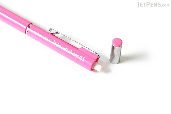 Sun-Star W Knock Mechanical Pencil - 0.5 mm - Pink Body - SUN-STAR S4454154