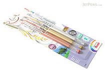 Pentel Slicci Metallic Gel Pen - 0.8 mm - 3 Color Set - PENTEL BG208BP3M