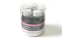 J. Herbin Scented Fountain Pen Ink - Sample Set of 5 Scents - 10 ml Bottles - J. HERBIN H120-02