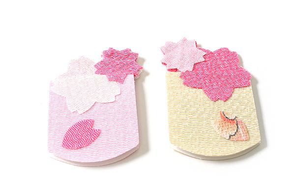Yumemiya Magnet Bookmark - Sakura Flower - Pack of 2 - YUMEMIYA 311009