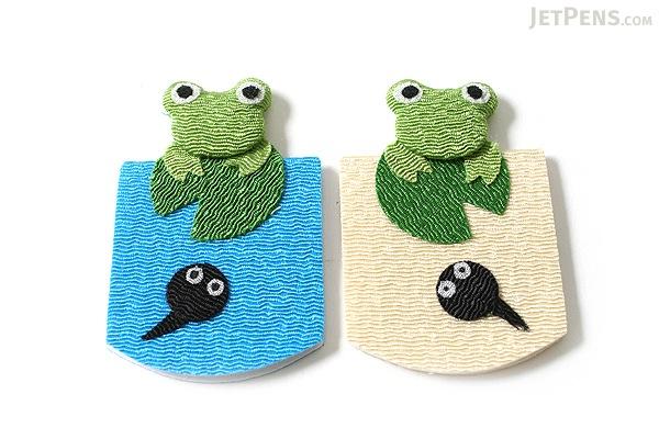 Yumemiya Magnet Bookmark - Frog - Pack of 2 - YUMEMIYA 311010