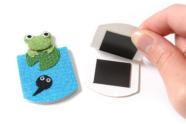 Yumemiya Magnet Bookmark - Frog - Pack of 2 - YUMEMIYA 311010