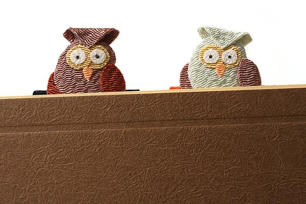 Yumemiya Magnet Bookmark - Owl - Pack of 2 - YUMEMIYA 311012