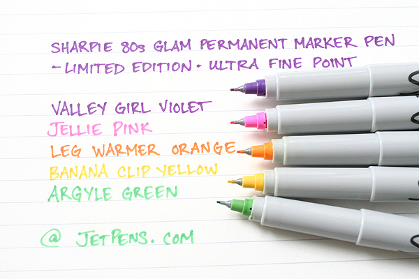 Sharpie 80's Glam Permanent Marker - Ultra Fine Point - Banana Clip Yellow - SHARPIE 1785400
