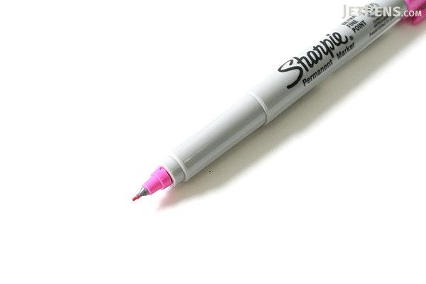 Sharpie 80's Glam Permanent Marker - Ultra Fine Point - Jellie Pink - SHARPIE 1785397