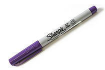 Sharpie 80's Glam Permanent Marker - Ultra Fine Point - Valley Girl Violet - SANFORD 1785399