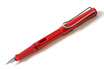 Lamy Safari Fountain Pen - Red - Medium Nib - LAMY L16M