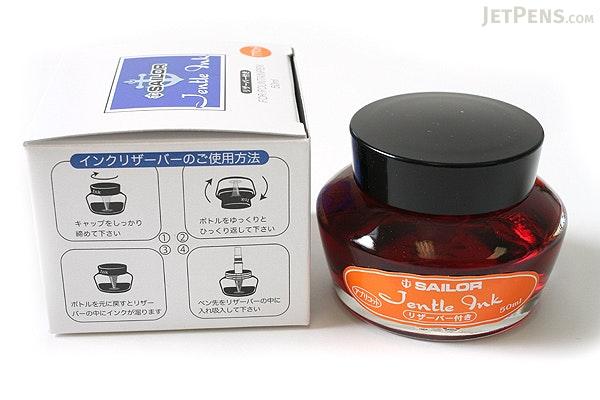 Sailor Fountain Pen Jentle Ink - 50 ml - Apricot Orange - SAILOR 13-1000-273