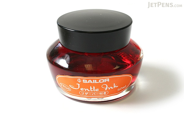 Sailor Fountain Pen Jentle Ink - 50 ml - Apricot Orange - SAILOR 13-1000-273