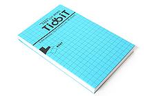 "Kokuyo Tidbit Free Cut Memo Pad - A7 (4.1"" X 2.9"") - 5 mm Graph - 80 sheets - KOKUYO ME-F12B"