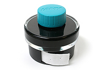 Lamy T52 Fountain Pen Ink + Ink Blotter Tape - 50 ml Bottle - Turquoise Blue - LAMY LT52TURQ