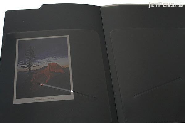 Maruman Mnemosyne HN188FA Notepad Holder with 5 Pockets + Notepad - A5 - 5 mm Graph - MARUMAN HN188FA