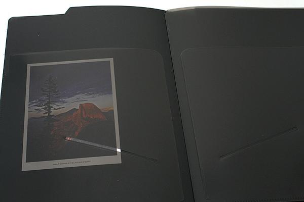 "Maruman Mnemosyne Notepad Holder with 5 Pockets + Notepad - A4 (8.3"" X 11.7"") - 5 mm X 5 mm Graph - 70 Sheets - Bundle of 5 - MARUMAN HN187F BUNDLE"