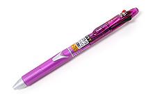 Pentel Vicuna Super Smooth 2 Color 0.7 mm Ballpoint Multi Pen + 0.5 mm Pencil - Purple Body - PENTEL BXW375V