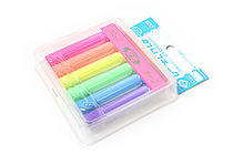 Rikagaku Dustless Fluorescent Chalk - 6 Color Set - RIKAGAKU DCK-6-6C