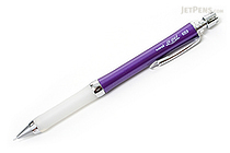 Uni Alpha Gel Slim Mechanical Pencil - 0.5 mm - Glossy Purple Body - White Grip - UNI M5807GG1PG.11