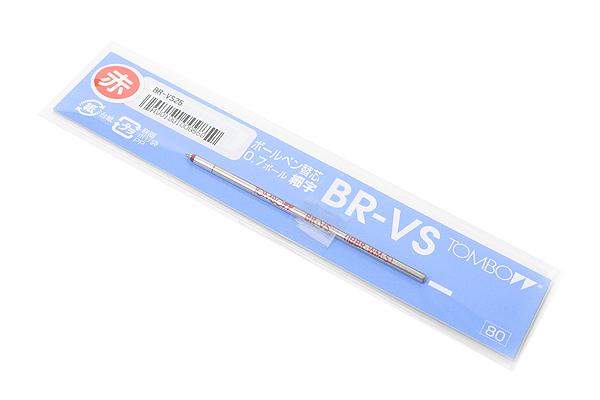 Tombow VS Ballpoint Pen Refill - D1 - 0.7 mm - Red - TOMBOW BR-VS25