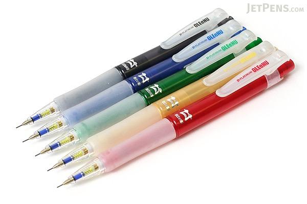 Platinum OLEeNu Lead Breakage Prevention Mechanical Pencil - 0.5 mm - Black Body - PLATINUM MOL-200 1