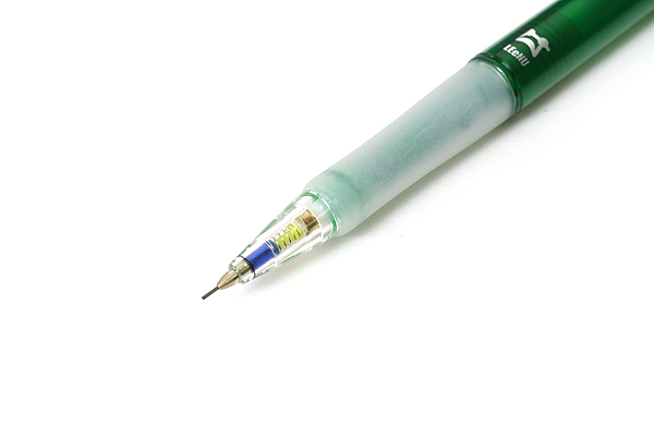 Platinum OLEeNu Lead Breakage Prevention Mechanical Pencil - 0.5 mm - Green Body - PLATINUM MOL-200 41