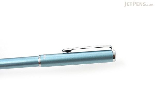 Zebra SL-F1 Mini Ballpoint Pen - 0.7 mm - Light Blue Body - Black Ink - ZEBRA BA55-LB