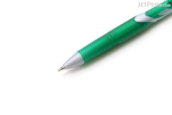 Pentel Vicuna Ballpoint Pen - 0.7 mm - Green Body - Green Ink - PENTEL BX157D-D