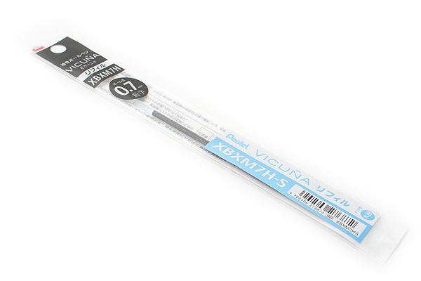 Pentel Vicuna Ballpoint Pen Refill - 0.7 mm - Sky Blue - PENTEL XBXM7H-S
