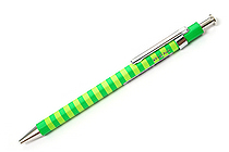 Ohto Pieni Border Needle-Point Ballpoint Pen - 0.3 mm - Green Body - OHTO NBP-353PB GREEN