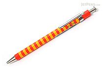 Ohto Pieni Border Needle-Point Ballpoint Pen - 0.3 mm - Orange Body - OHTO NBP-353PB ORANGE