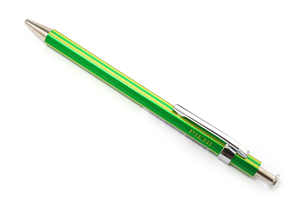Ohto Pieni Stripe Needle-Point Ballpoint Pen - 0.3 mm - Green Body - OHTO NBP-353PS GREEN