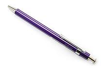 Ohto Pieni Stripe Needle-Point Ballpoint Pen - 0.3 mm - Purple Body - OHTO NBP-353PS PURPLE