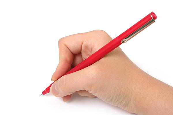 Marvy Le Pen Marker Pen - Fine Point - Red - MARVY 43020