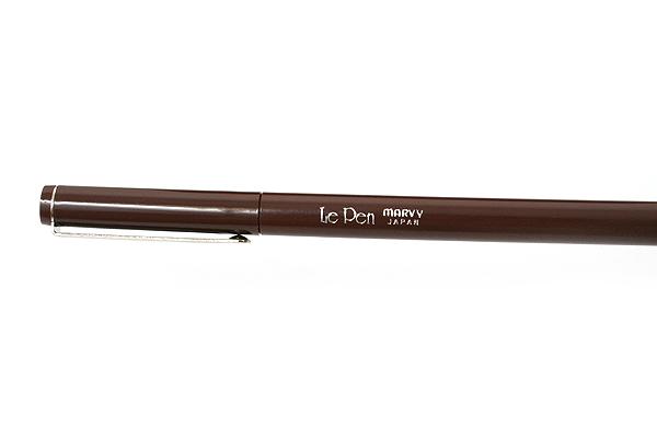 Marvy Le Pen Marker Pen - Fine Point - Brown - MARVY 43060