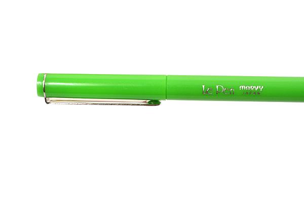 Marvy Le Pen Marker Pen - Fine Point - Light Green - MARVY 43150