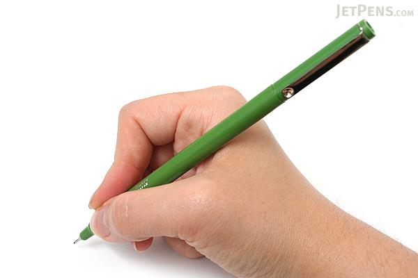 Marvy Le Pen Marker Pen - Fine Point - Olive Green - MARVY 43160