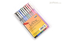 Marvy Le Pen Marker Pen - Fine Point - 8 Color - 10 Pen Set - MARVY 4300-10A