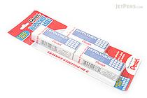 Pentel Hi-Polymer Eraser - Pack of 3 - PENTEL ZEH10BP2F