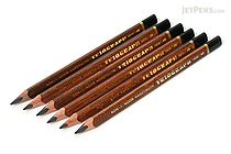 Koh-I-Noor Triograph Graphite Pencil - 4B - Pack of 6 - KOH-I-NOOR FA1830.4B